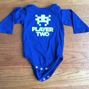 Other - 0-3 month long sleeve onesie